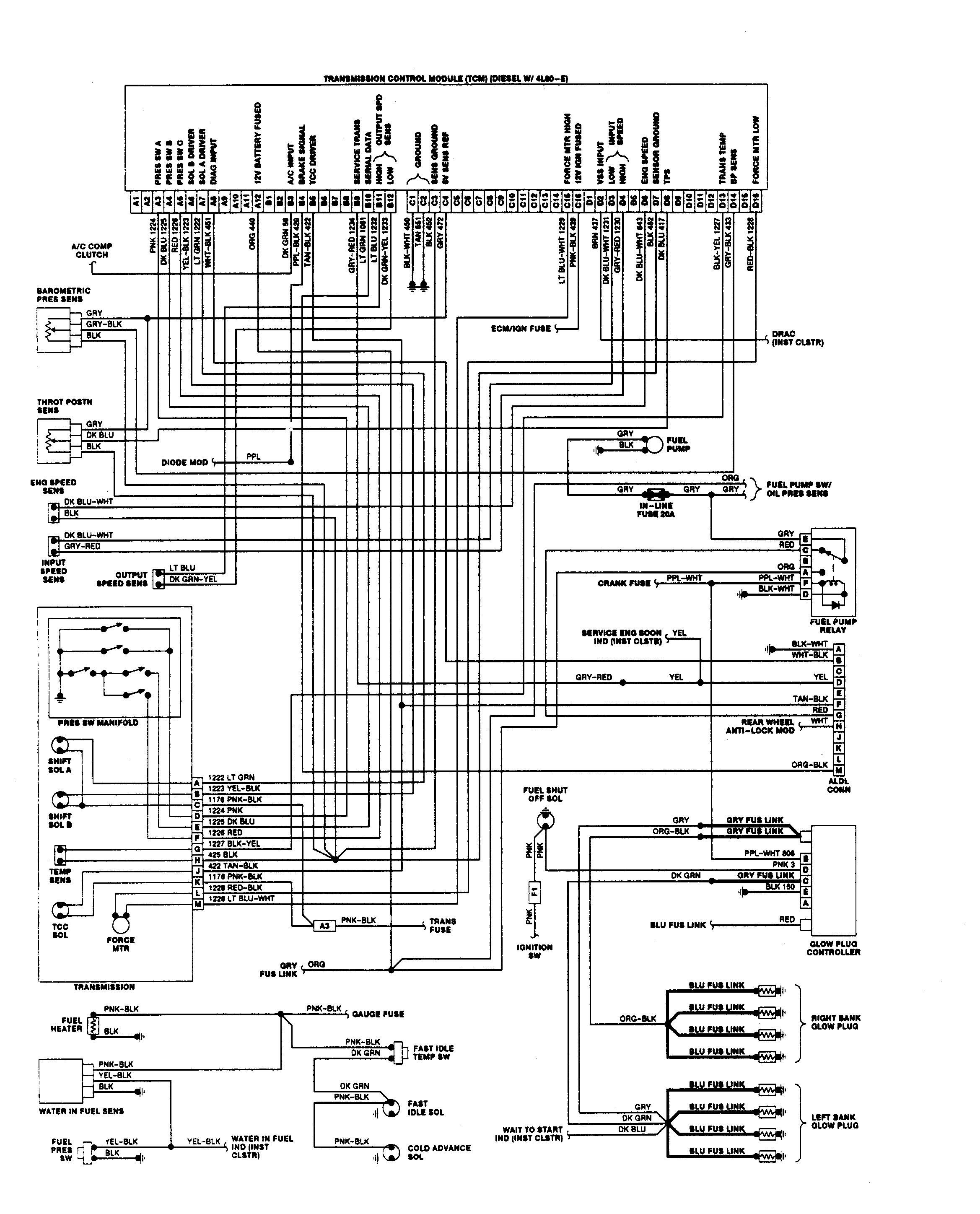 1991 chevy truck wiring diagram 2000 1500 stereo p30 diagrams