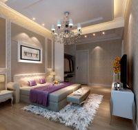 3d Rendering Neoclassical Bedroom Lighting For Beautiful ...