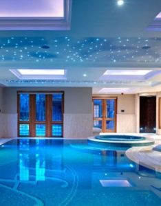 outstanding indoor pool design for modern house also pools rh pinterest