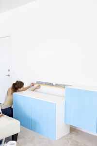 How To Install IKEA Besta Cabinets | Wall mount, Walls and ...