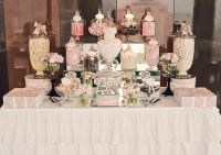Pink Candy / Dessert Tables | Buffet, Bar and Lolly buffet