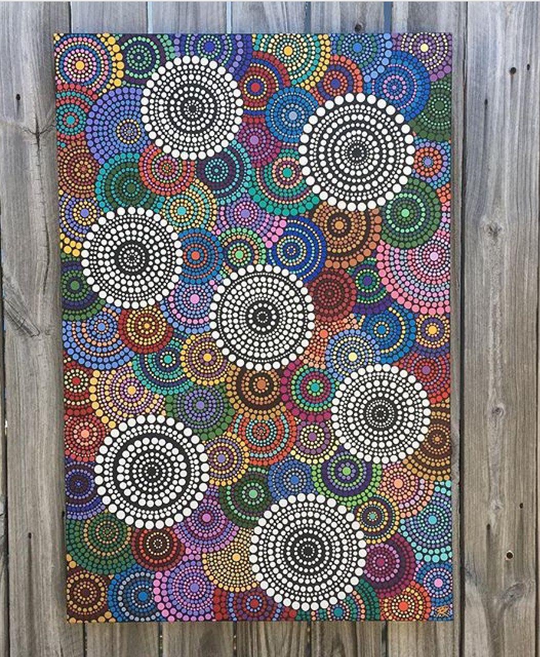 Paintings Dot Mandala Art