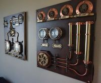 Industrial Art.Control Panels - 2pcs.Steampunk,Wall Art ...