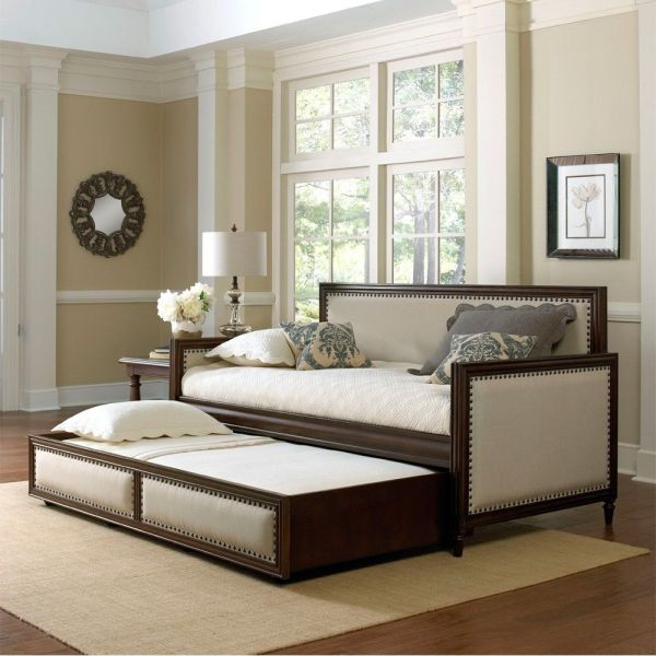 Fashion Bed Group' Grandover Upholstered Daybed Cream