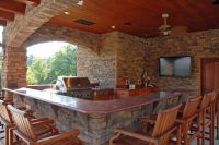 beautiful Backyard Kitchen Photo | Beautiful Outdoor ...
