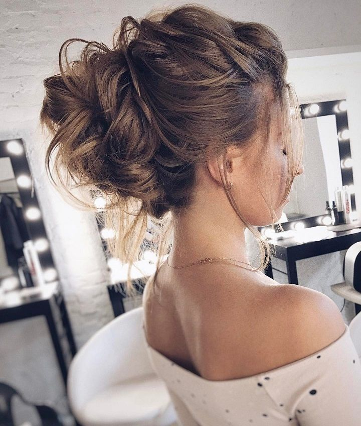 Drop Dead Gorgeous Loose Updo Hairstyle  Messy wedding