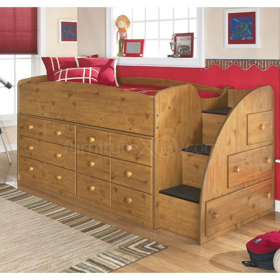 Beds With Dressers Underneath Furniture Kids Loft