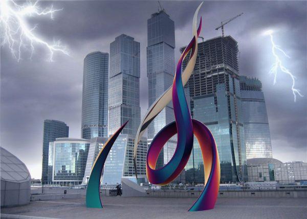 Public Art Sculpture Sexy Modern - Contemporary
