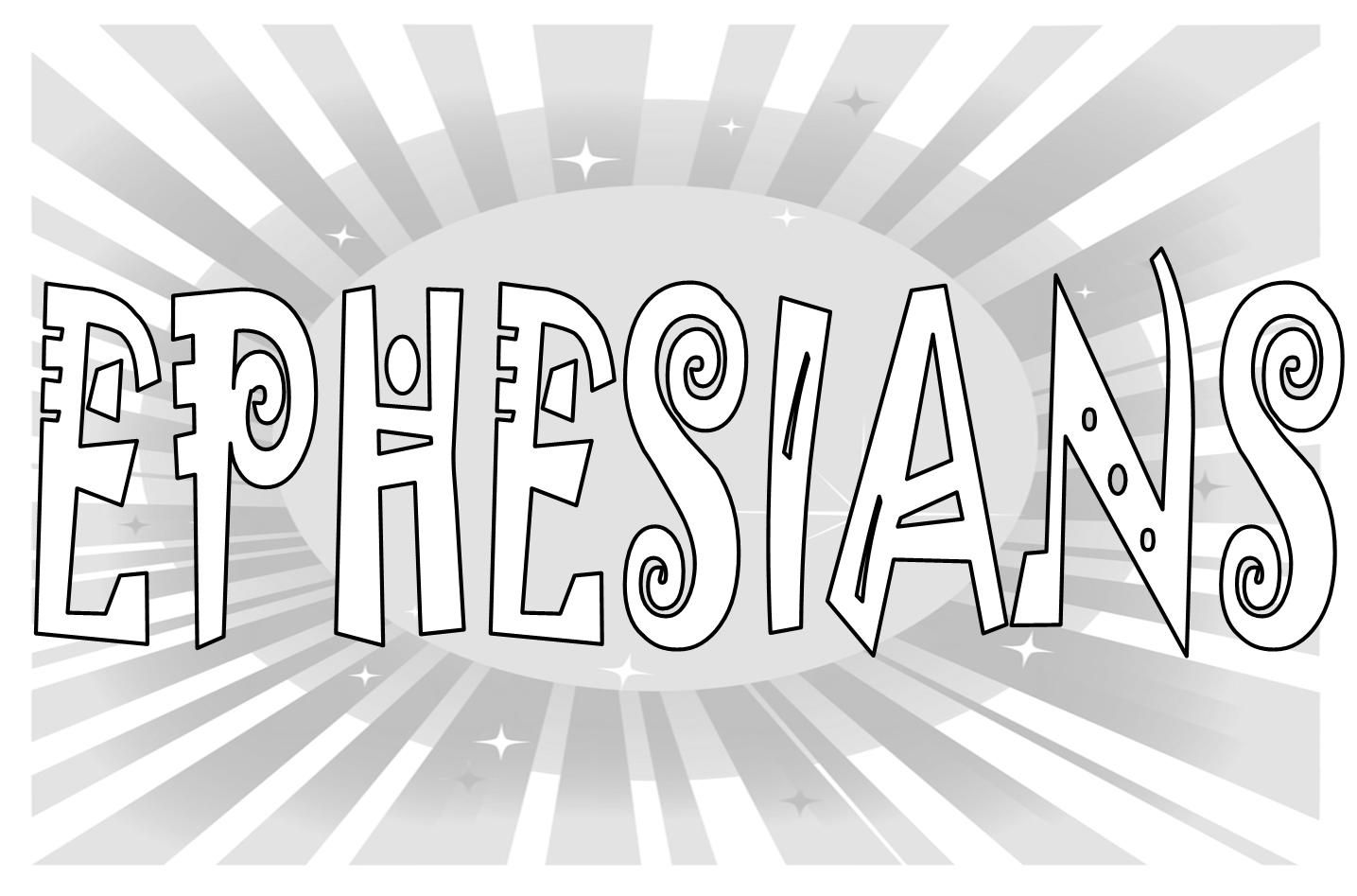 Blecoloringpagesforkids Ephesians Coloring Page