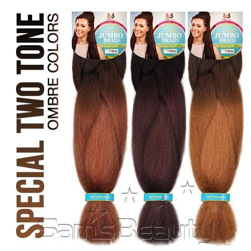 Bobbi Boss Synthetic Hair Braids Choice Jumbo Braid