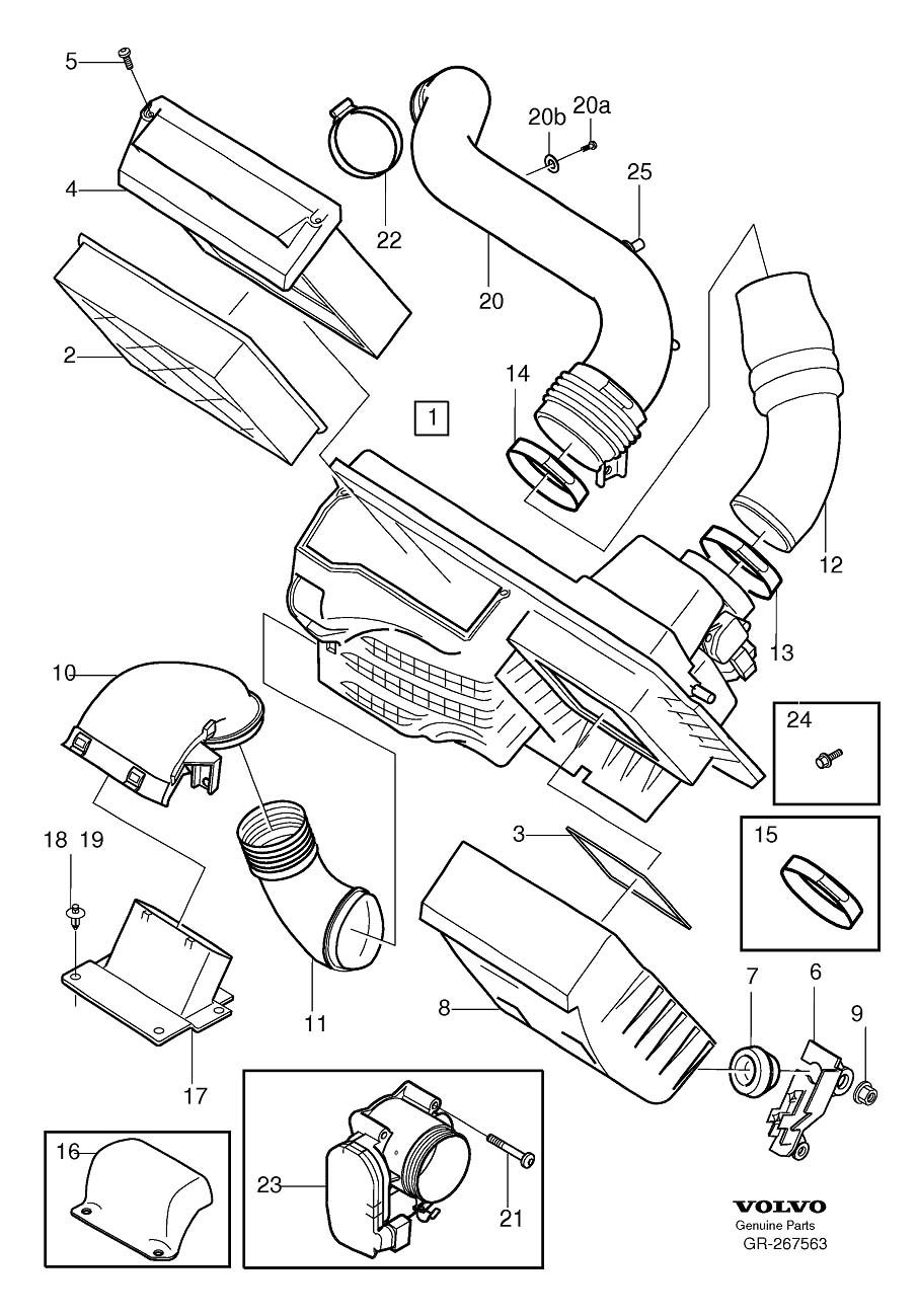 volvo v50 engine diagram