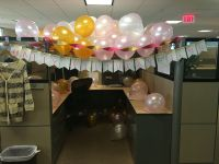 Ideas To Decorate Cubicle. Birthday Cubicle With Ideas To ...