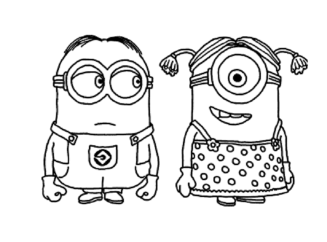 To print «coloring-minions-3», click on the printer icon