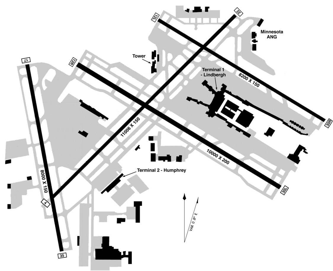 Minneapolis St Paul International Wold Chamberlain
