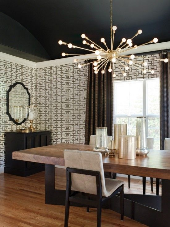 Modern Chandelier Dining Room Design Pictures Remodel Decor And Ideas Page 3