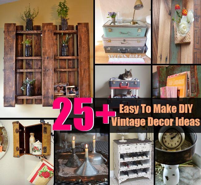 Vintage Home Decor Ideas Diy Sha Excelsior Org