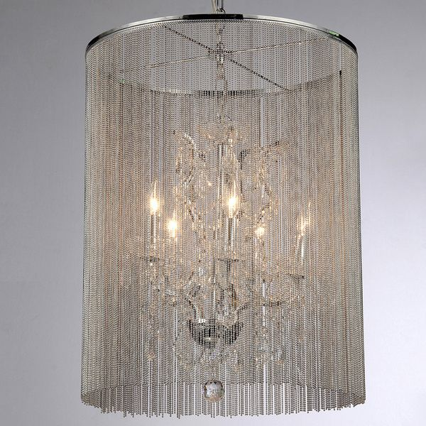 Rosalias Modern Cage Chandelier Ping Great Deals On Warehouse Of Tiffany Chandeliers Chandelierlight Chaincrystal