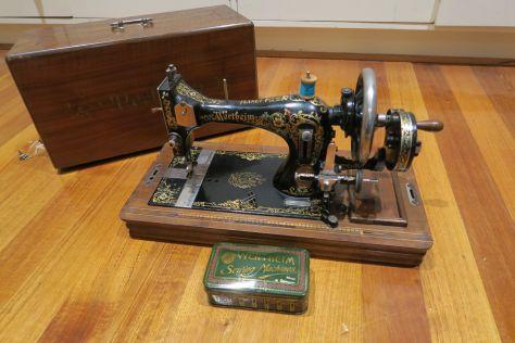WERTHEIM Manual Sewing Machine  Made in Germany! Ca  1920