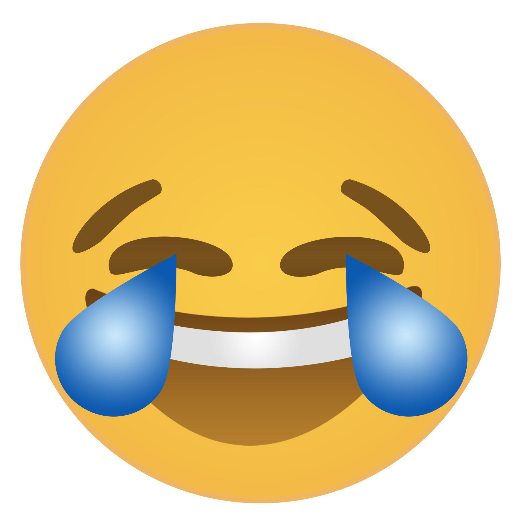 Emoji Laughing Tears Face Free Printable 2 1 800 1 800