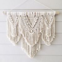 Beauty Extra large macrame wall hanging by WovenWhale on ...