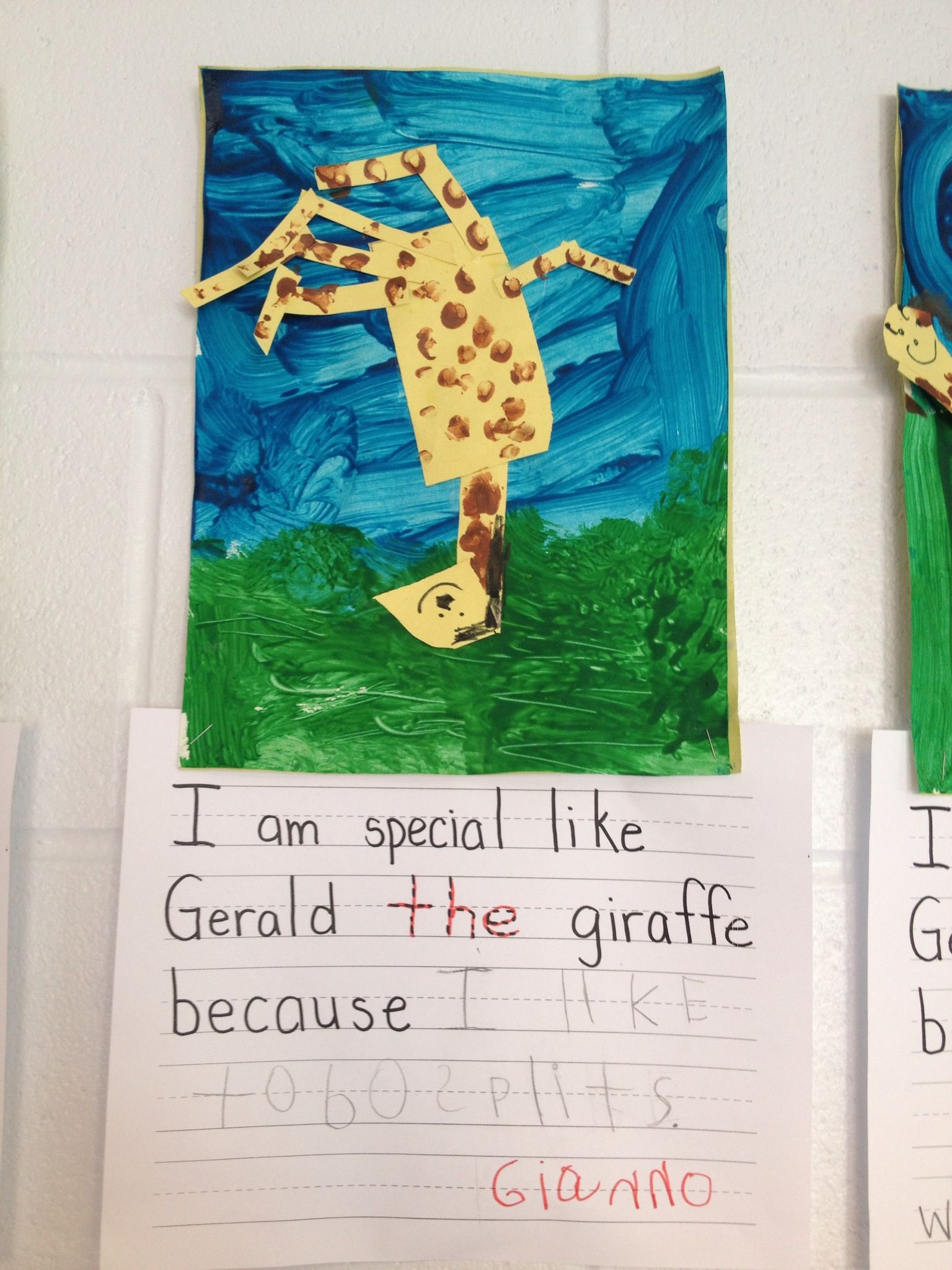 Giraffe S Can T Dance Text To Self Connection