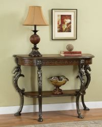 Powell Furniture Masterpiece Demilune Sofa Hall Console ...