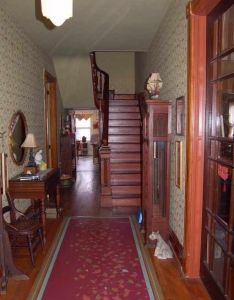 Charming historic home  copper gutters valleys within walking distance of historical downtown lebanon large foyer ceilings master br with wbfp also  oh old house dreams interiors vic rh za pinterest