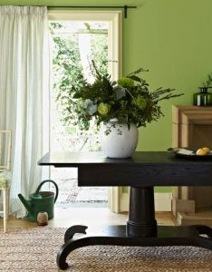 Apple green living room modern decorating ideas homes  gardens also de        fg pixels design rh pinterest