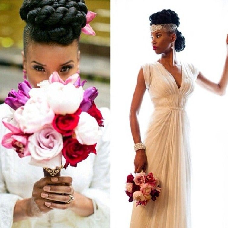 Black Wedding Hairstyles With Natural Hair Hollywood Official