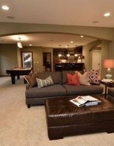 Lower level entertainment area traditional family room minneapolis gonyea homes  remodeling also rh pinterest