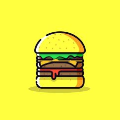 Folding Chair Lulu Director Covers Bed Bath And Beyond Burger Vector Art Designed Designspiration