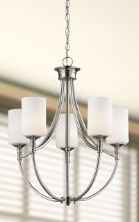A simple and elegant chandelier. http://www.menards.com ...