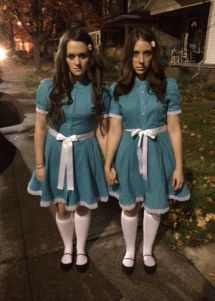 Shining Twin Girl Halloween Costumes
