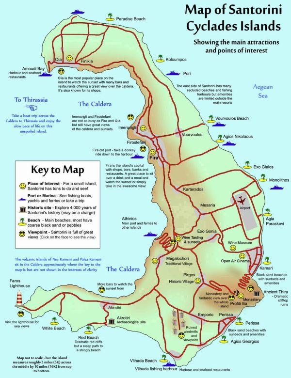 Best 25 Map of santorini ideas on Pinterest Map of
