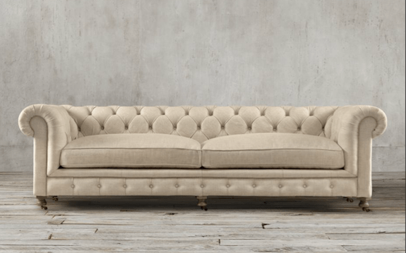 savoy leather sofa restoration hardware how to clean feather cushions chesterfield 76 kensington ...