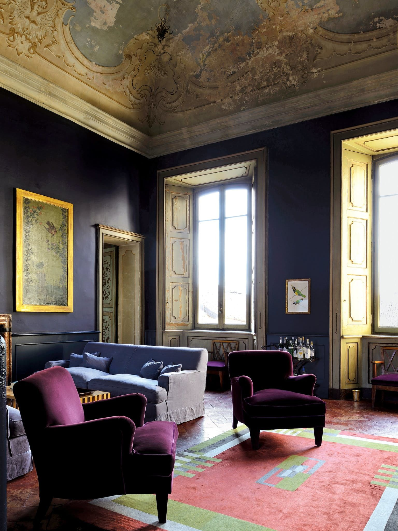 Move Over Paris The World Most Beautiful Homes Are In Italy Living Room  Designsinterior Also Rh