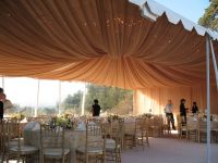 fabric swags and chandeliers - Google Search | Black ...