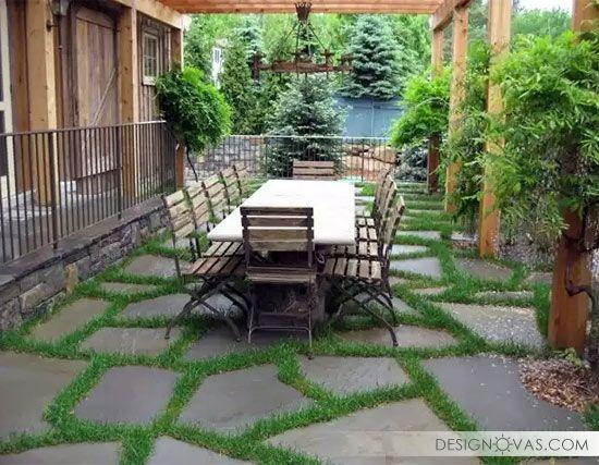 25 Creative Garden Path Paving Ideas #garden #paving Awesome