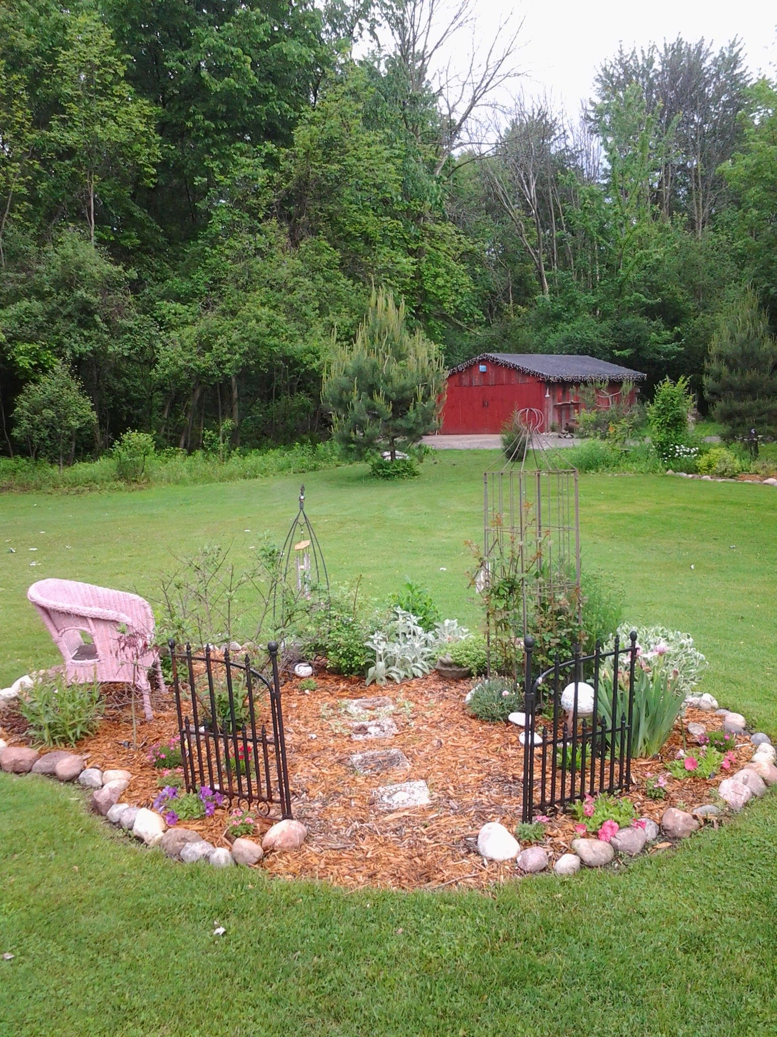 Memory Garden Of My Daughter My Garden Pinterest Memorial