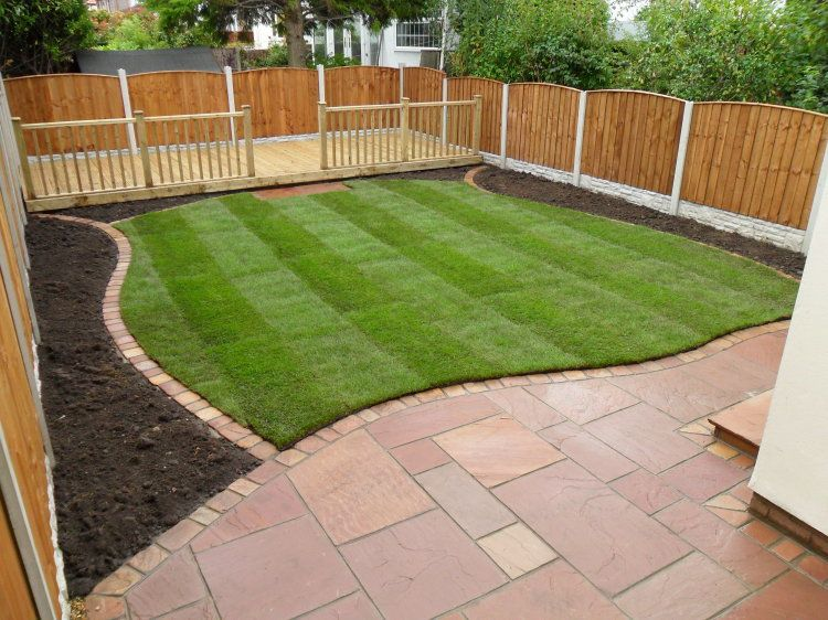 Square Laid Paving With Curved Edge Colin Young Young Young