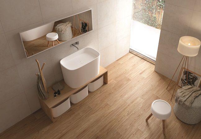 bagno con pavimento effetto legno  Cerca con Google  project home  Pinterest