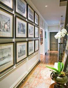 best hallway walls make your hallways as beautiful the rest of home also rh pinterest