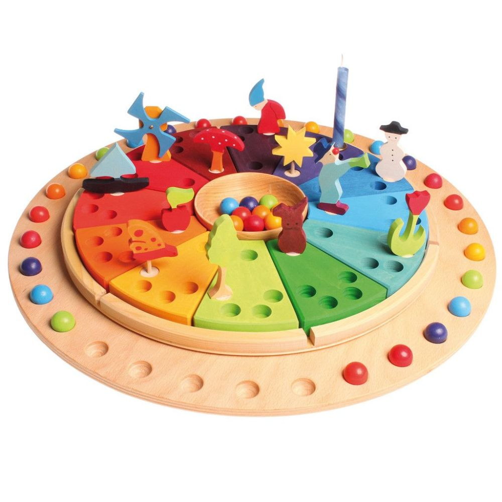 Calendario Anual DIY (Estilo Montessori) (2/6)