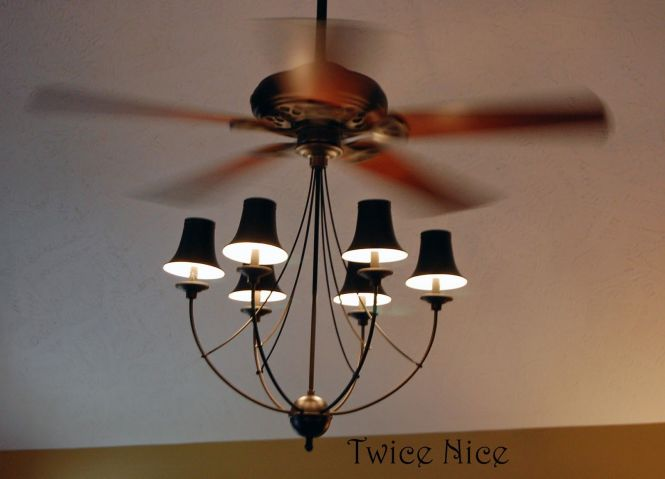 Decorative Chandelier Ceiling Fan With Lights