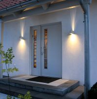 Exterior. Exterior Lighting Fixtures Wall Mount for Modern