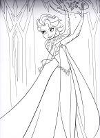 Elegant Elsa Die Eiskönigin Ausmalbilder   Top Kostenlos ...