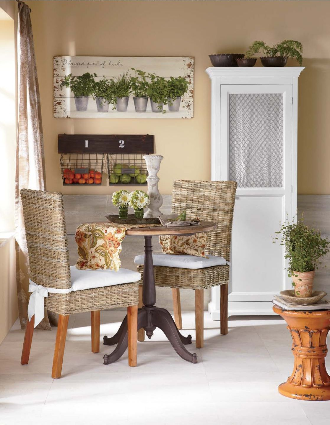 cozy chairs small spaces walmart shower chair kitchen maximize a dining space with round