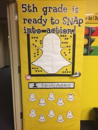 We're back in school! My snapchat theme for the classroom ...