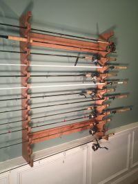 Wall Mounted Rod Rack Built by Rods @ Rest http ...