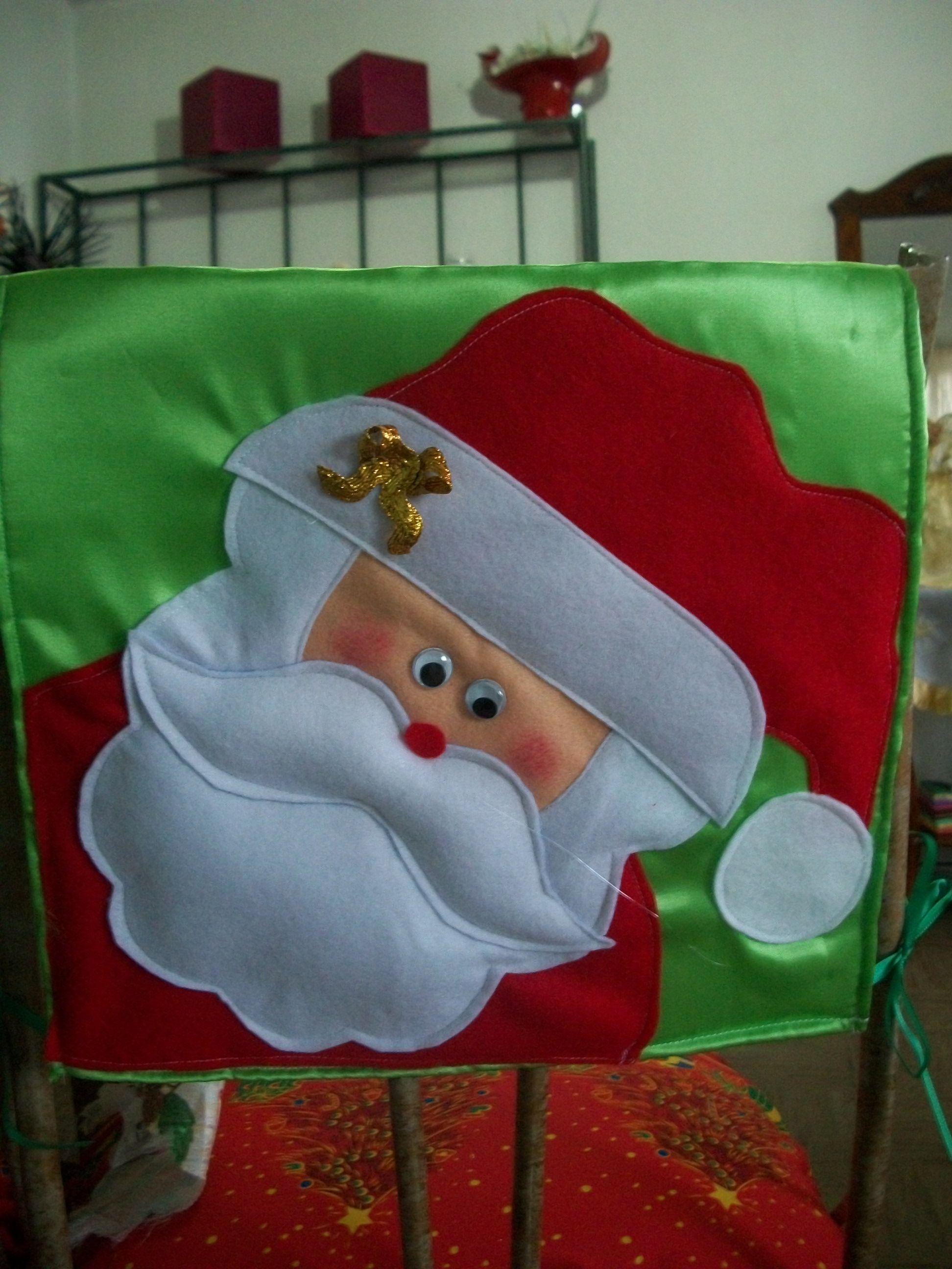 christmas chair covers pinterest harvard for sale cubresillas navideños propios
